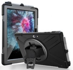 armourdog® rugged case with hand and shoulder straps for the Microsoft Surface Go